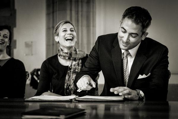 Standesamtliche Hochzeit von Sonja und Jochen in Köln