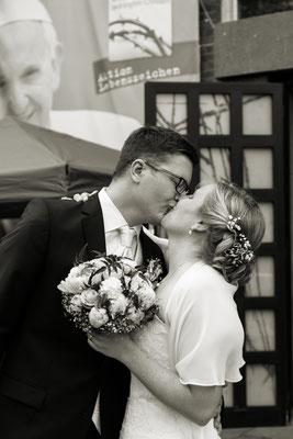 Hochzeit von Anika und Benni Franziskanerkirche St. Barbara