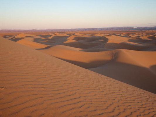 désert et dunes