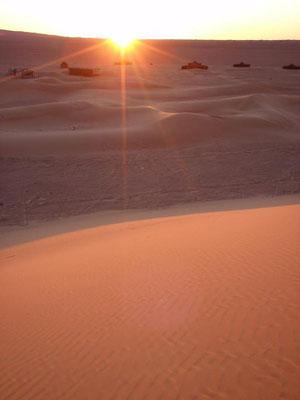 Soleil et dunes