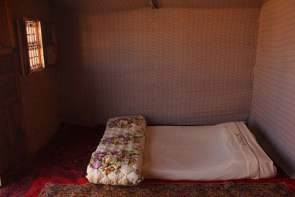 Chambre du bivouac