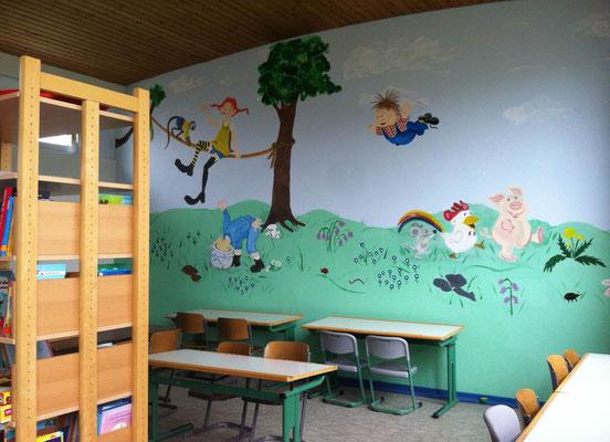 Schülerbücherei und Betreuungsraum