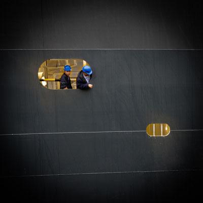 Nussschale aus Spanplatten oder massives Schiff? Queen Mary 2 _ © S. Baraucke
