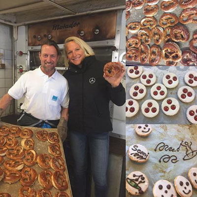 Backe, backe Kuchen in Dünzingers bakery