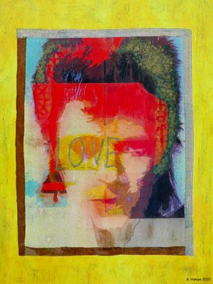 David with Love  60x80 cm Leinwand