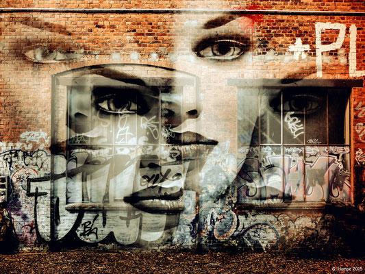 Women and graffiti