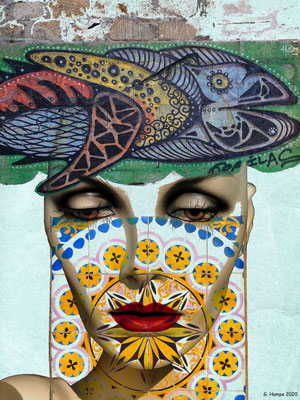 The face, the fish and the azulejos