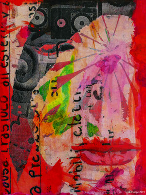 The red temptation 24x30 cm canvas