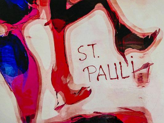 Dancing legs at St. Pauli