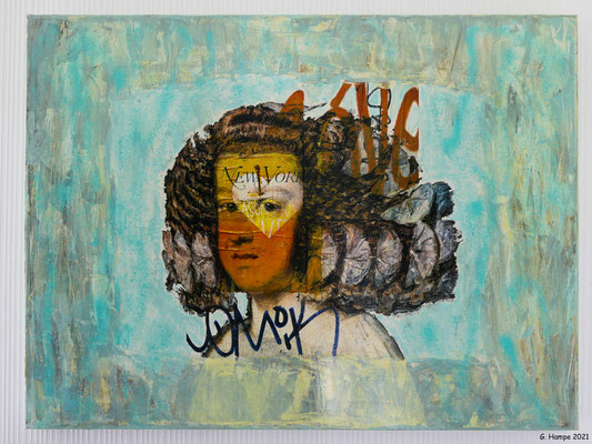 Maria T. 60x80x4 cm Leinwand