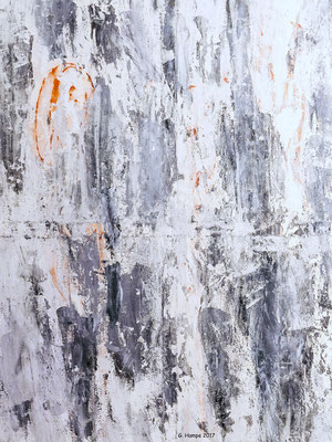 Abstract art in grey 80x100x2 cm Leinwand