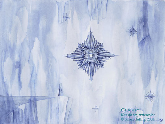 CLARITY, 80x60cm, water color, 2008