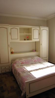 Chambre2 : lit en 140 cm. Matelas en 100% latex haute densité