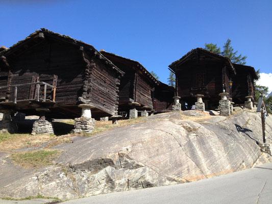 Sas Fee, ein schöner Bergtourismusort
