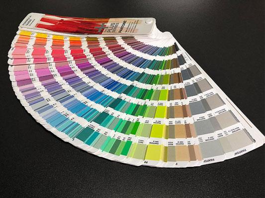 Pantone uncoated Sonderfarben für den Einsatz mit Natur- und ungestrichenen Papieren (Offsetpapieren)