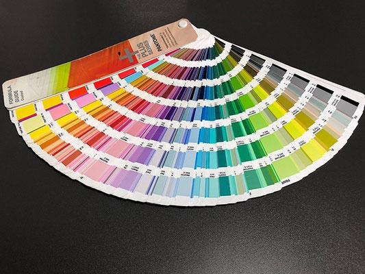 Pantone coated Sonderfarben für gestrichene Bilderdruckpapiere