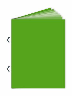 Schema einer Ringösenheftung - Druckerei SATZDRUCK