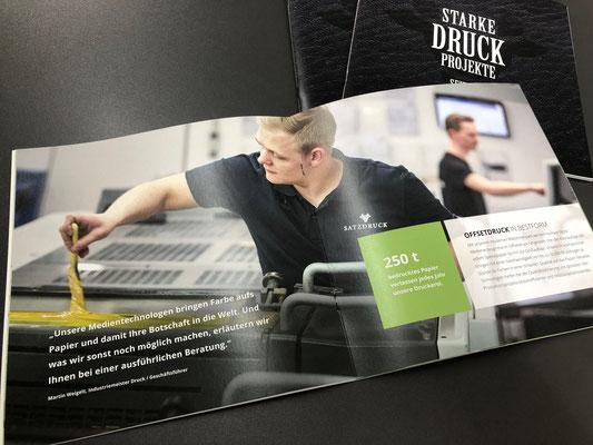 Imagebroschur SATZDRUCK | 09-2019 - Ihre Druckerei in NRW