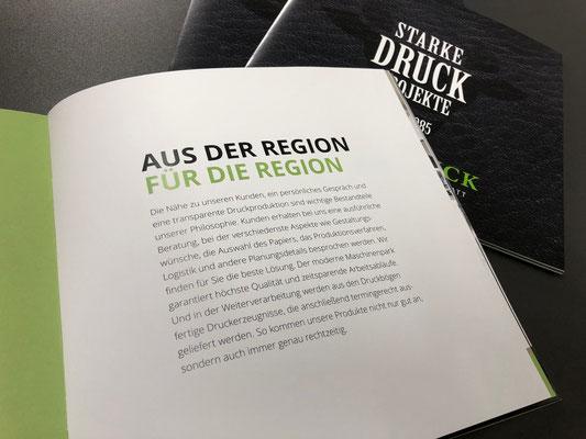 Imagebroschur SATZDRUCK | 09-2019 - Ihre Druckerei im Münsterland