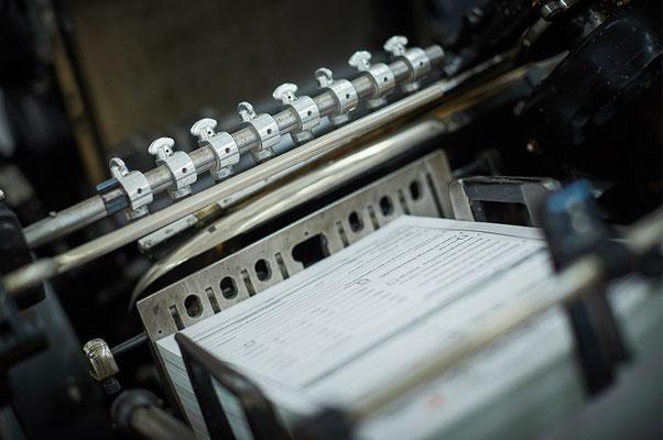 Letterpress ist wunderschön - Satzdruck