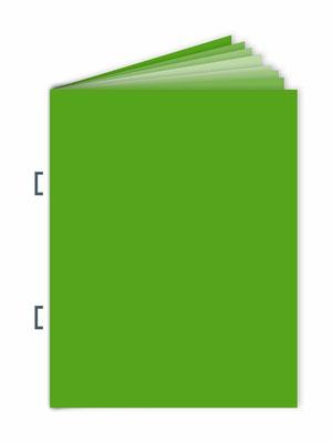 Schema einer Rückendrahtheftuung - Druckerei SATZDRUCK