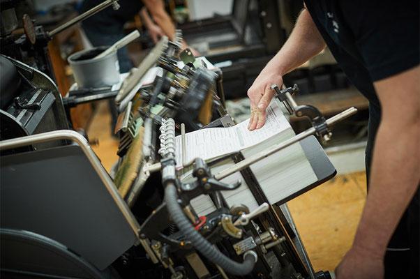 Letterpress |  Satzdruck GmbH