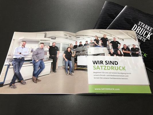 Imagebroschur Medienwerkstatt SATZDRUCK | 09-2019