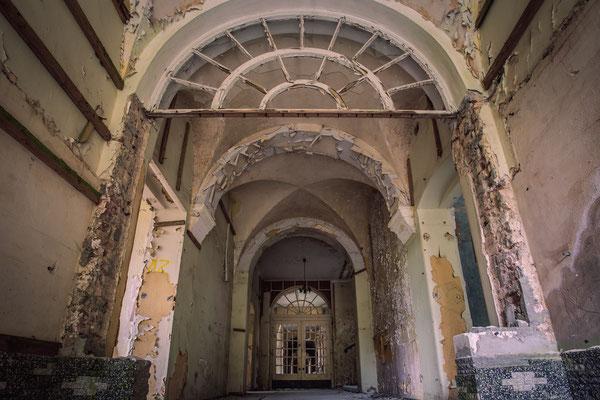 Der vergessene Eingang in die Heilstätte