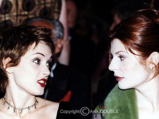 Winona Ryder et Chiara Mastroianni 1998 / Photo : Anik Couble