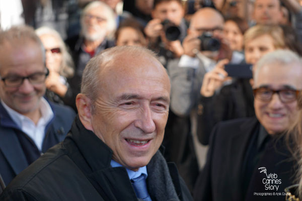 Gérard Collomb et Martin Scorsese - Festival Lumière - Lyon - Oct 2015 - Photo © Anik COUBLE