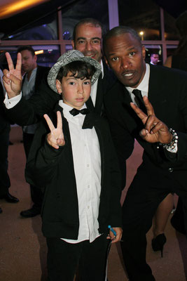 Jamie FOXX et Alan BADAOUI-COUBLE - Festival de Cannes  2011 - Photo © Anik COUBLE