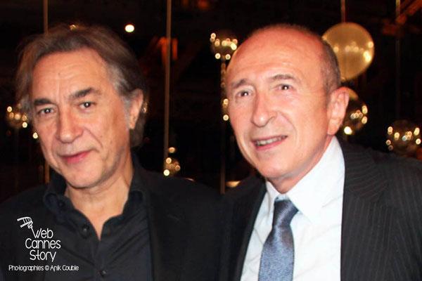 Gérard COLLOMB et Richard BERRI - Festival Lumière 2013 - Lyon - Photo © Anik COUBLE