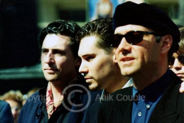 Gabriel Byne et Kevin Spacey1995  / Photo : Anik Couble