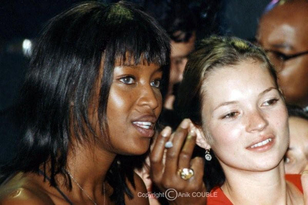 Naomi Campbell et Kate Moss 1997 / Photo : Anik Couble