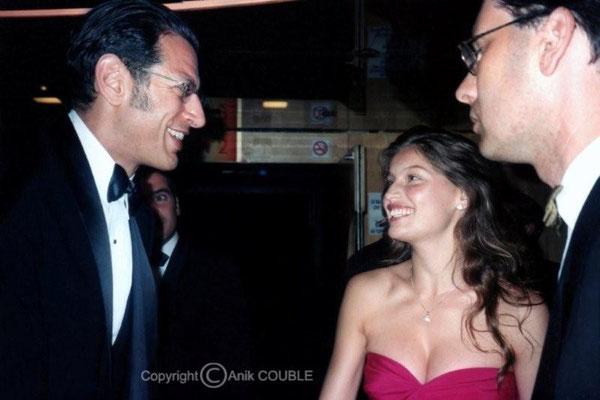 Jeff Goldblum et Laeticia Casta 1999 / Photo : Anik Couble