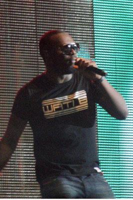 Maître Gims, lors du concert Sexion d'Assaut à Lyon, le 5 novembre 2012  © Anik COUBLE