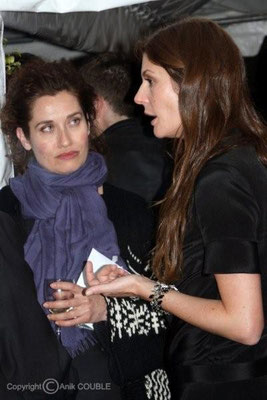 Emmanuelle Devos et Chiara Mastroianni 2008 / Photo : Anik Couble