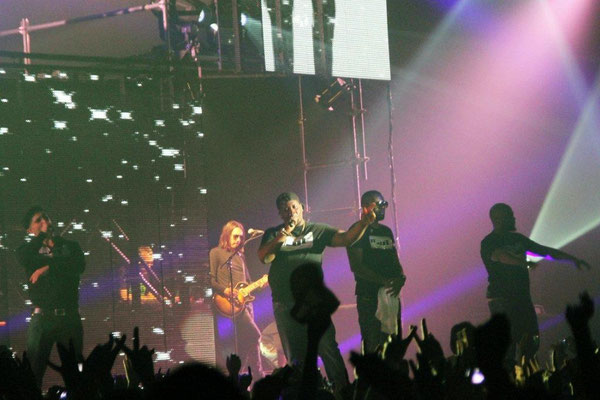 Concert Sexion d'Assaut à Lyon, le 5 novembre 2012  © Anik COUBLE