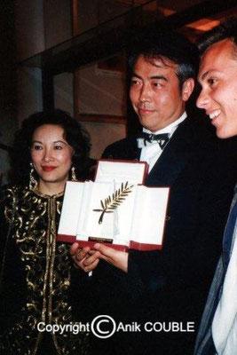 1993 : Adieu ma concubine de Chen Kaige (Chine)                  ex æquo avec La leçon de piano de Jane Campion (Australie)