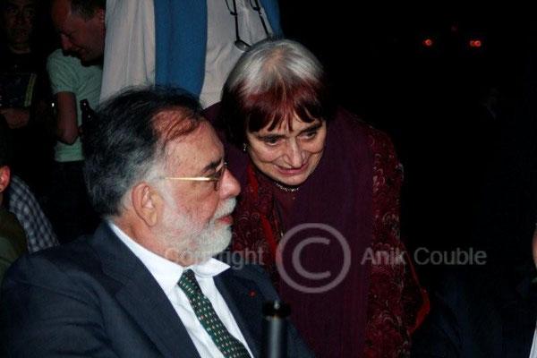 Francis Ford Coppola et Agnès Varda 2009 / Photo : Anik Couble
