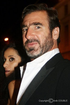 Eric Cantona et Rachida Brakni 2009 / Photo : Anik Couble