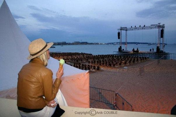 Cinéma de la plage 2004 / Photo : Anik Couble