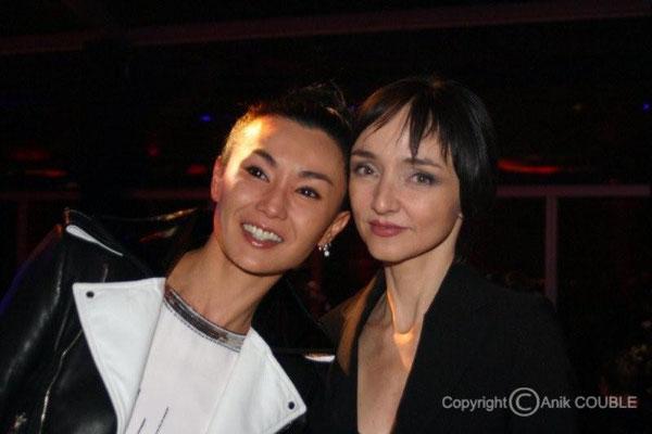 Maggie Cheung et Maria de Medeiros 2007 / Photo : Anik Couble