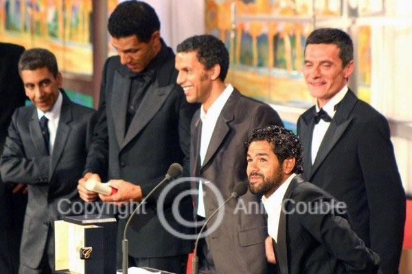 Jamel Debbouze, Sami Bouajila, Roschdy Zem et Bernard Blancan 2006 / Photo : Anik Couble