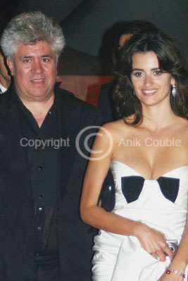 Pedro Almodovar et Penelope Cruz 2006 / Photo : Anik Couble