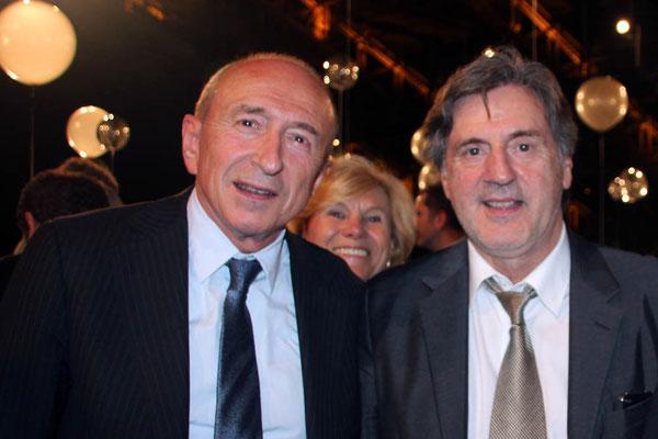 Gérard COLLOMB et Daniel AUTEUIL - Festival Lumière 2013 - Lyon - Photo © Anik COUBLE