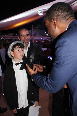 Jamie FOXX et Alan BADAOUI-COUBLE - Festival de Cannes  2011 - Photo © Anik COUBLE