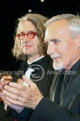 Wim Venders et Denis Hopper 2008 / Photo : Anik Couble