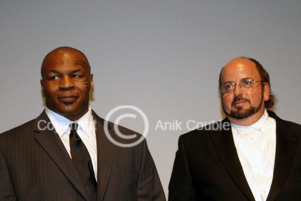 Mike Tyson et James Toback 2008 / Photo : Anik Couble