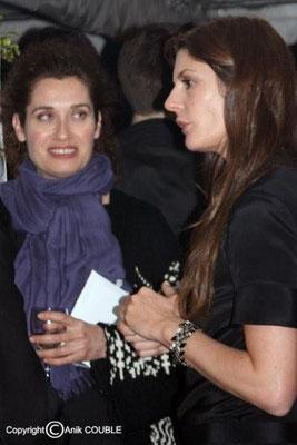 Emmanuelle Devos et Chiara Mastroianni 2008 / Photo : Anik Couble